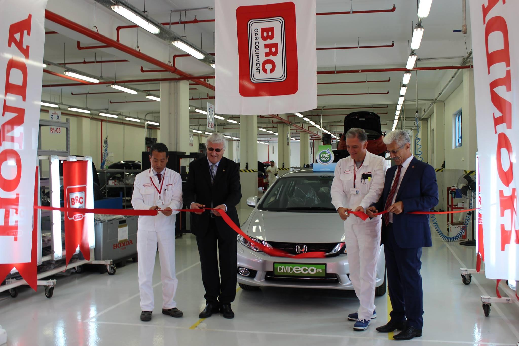 BRC ve Honda Türkiye Arasında Yeni İşbirliği