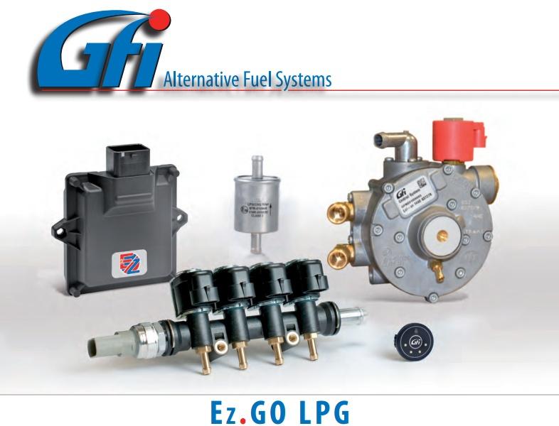 GFI - BRC - EZ GO - Sıralı Sistem Lpg Kiti