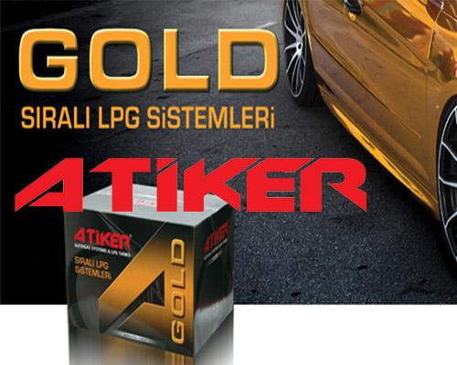 Atiker GOLD Sıralı Sistem Lpg Kiti