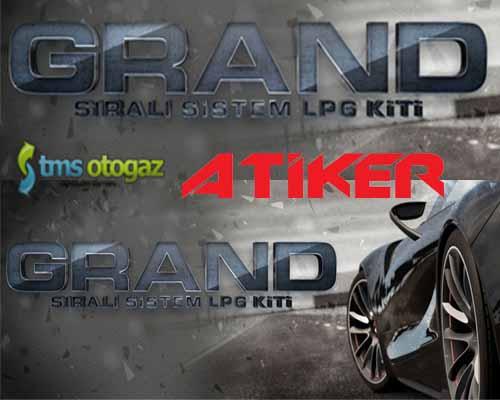 Atiker GRAND Sıralı Sistem Lpg Kiti