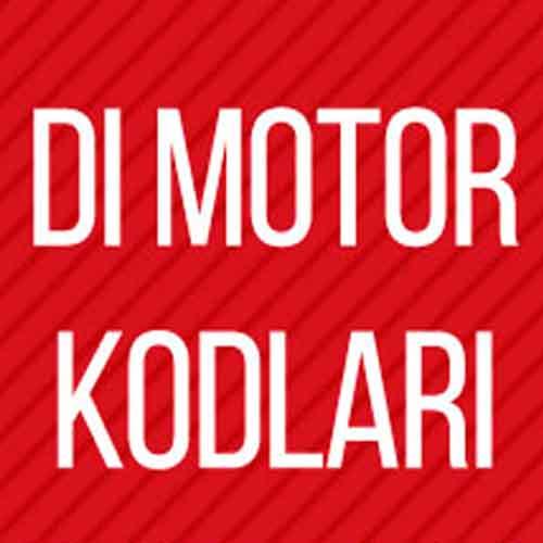 Atiker DI Motor Kodları